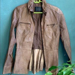 Ermanno Scervino Leather Jacket